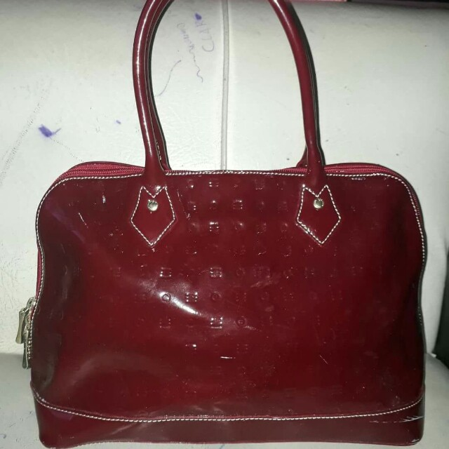 AUTHENTIC ARCADIA RED BAG