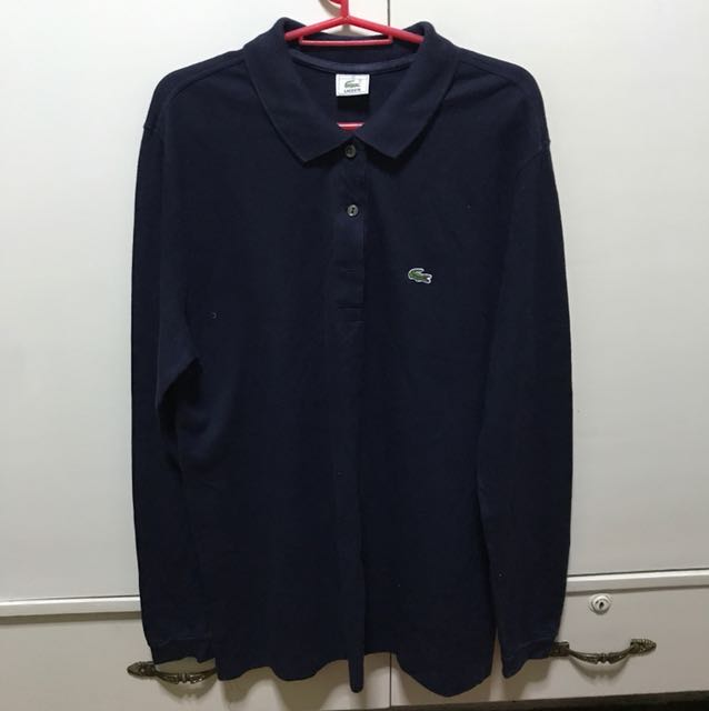 Authentic Lacoste Long Sleeves Polo Shirt