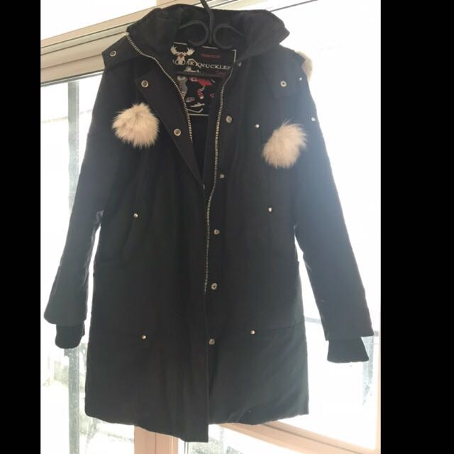 Authentic Mooseknuckles winter parka