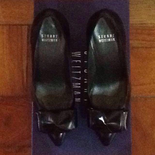 Authentic Stuart Weitzman black shoes