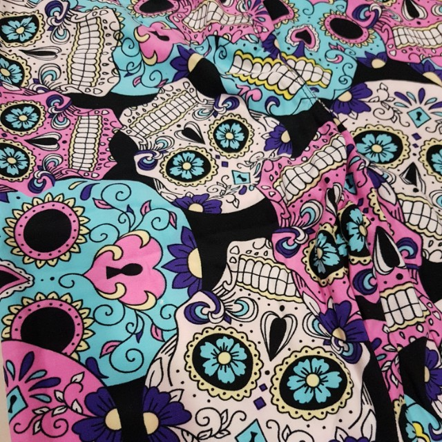 a4322c561f7c46 BN MOMMY AND ME SUGAR SKULL LEGGINGS, Women's Fashion, Clothes, Pants,  Jeans & Shorts on Carousell