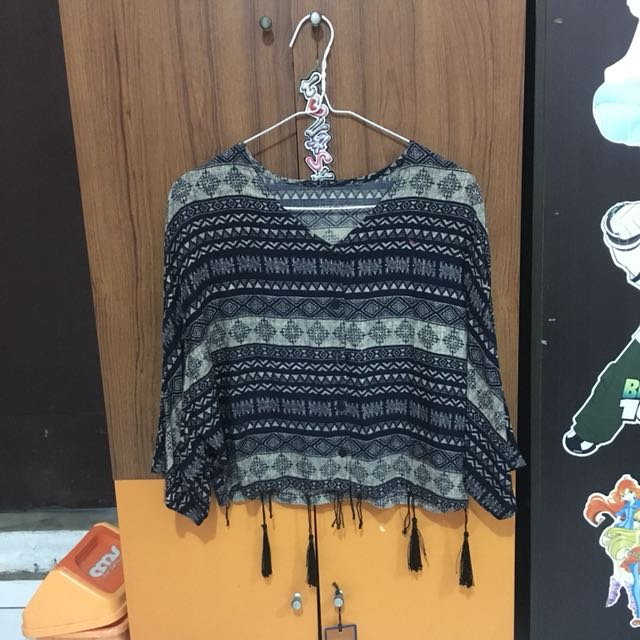 Boho Tribal Top