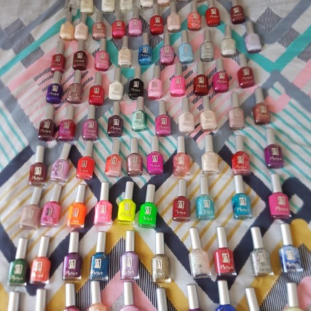 Brand new Myora nail polishes ×90