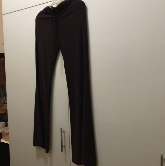 Brown Genevieve Gozum Leggings/Pants (S-M)