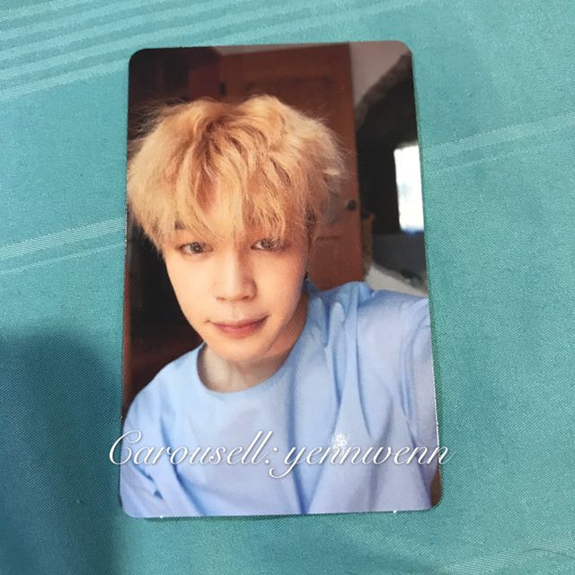 BTS Jimin L Version Love Yourself : Her Official Photocard
