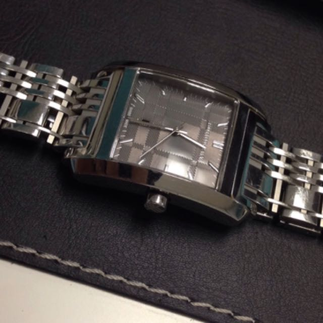 Burberry watch used authentic