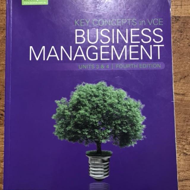 Business management unit 3&4 vce