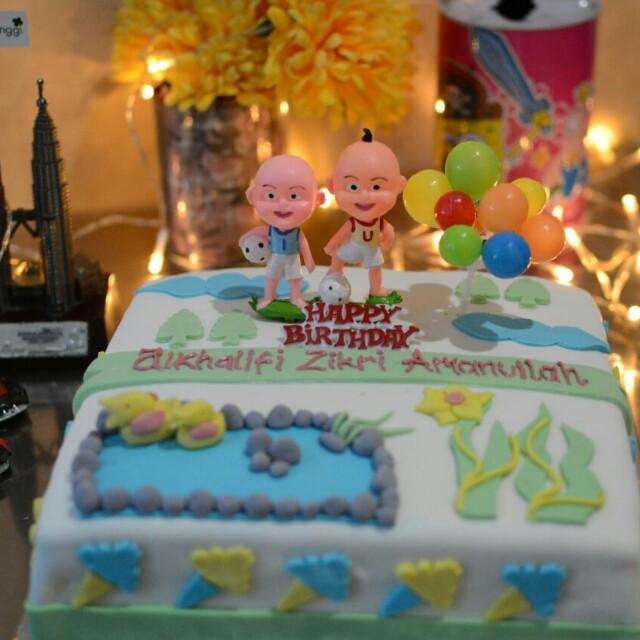 Cake Ulang Tahun upin ipin