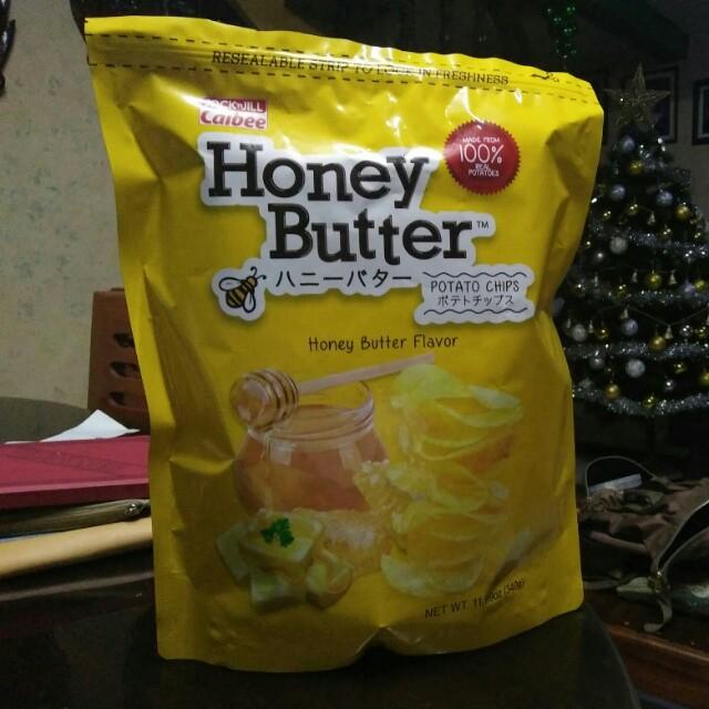Calbee Honey Butter potato chips