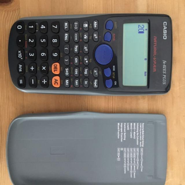 Casio fx82 es plus scientific calculator exam calculator