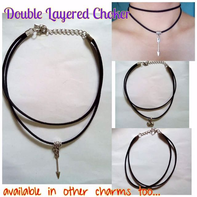 Chocker 3layers with Charm