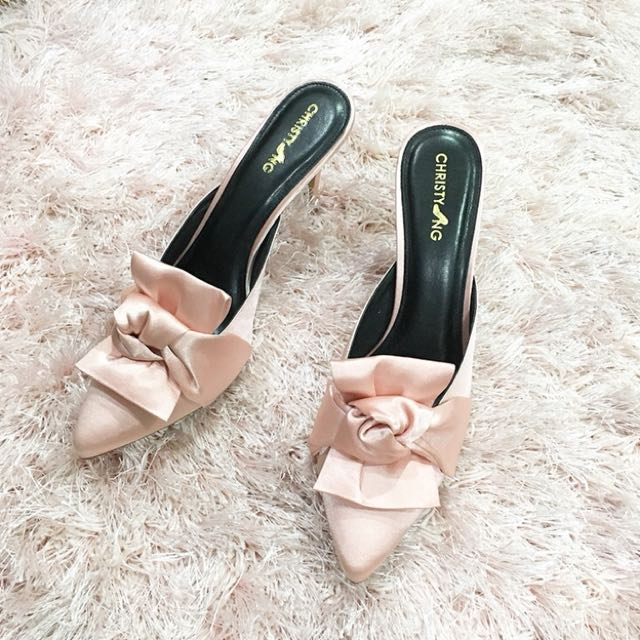 Christyng Knotted Collection Heels