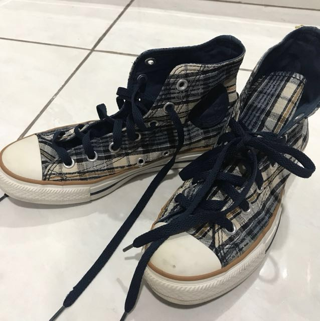 Converse High Blue Shoes