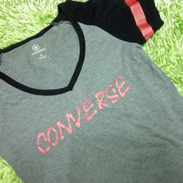 Converse v-neck shirt