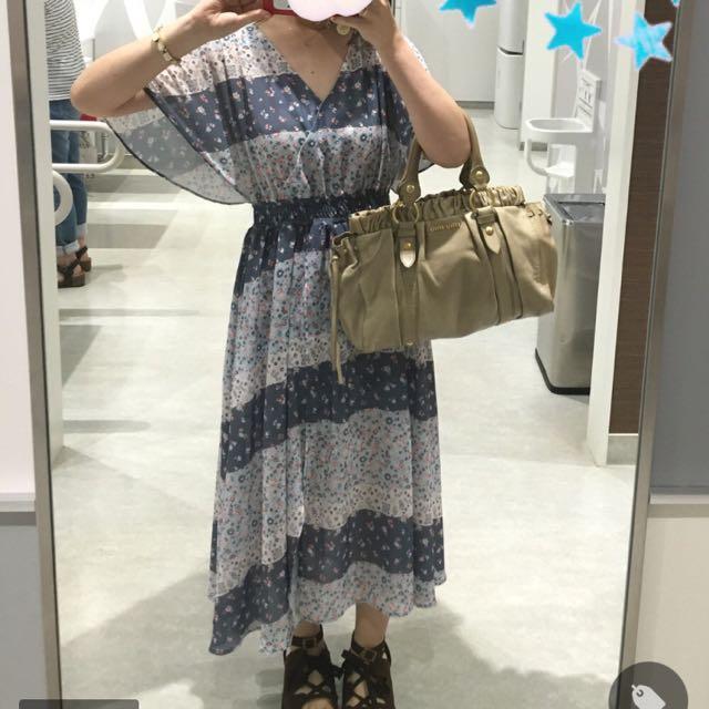 日牌Dazzlin 超可愛鄉村風洋裝