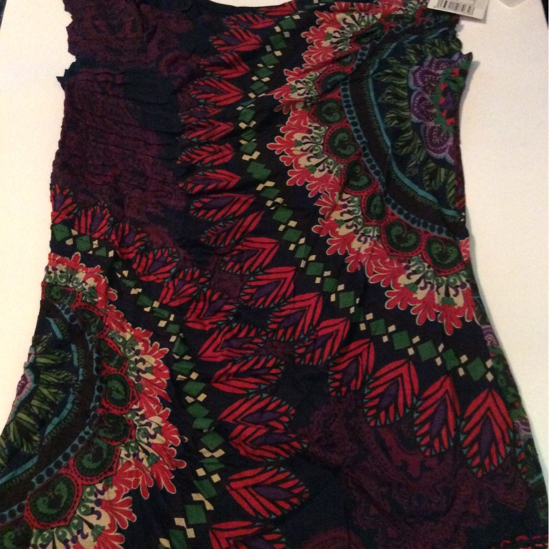 Desigual top brand new with tags size large