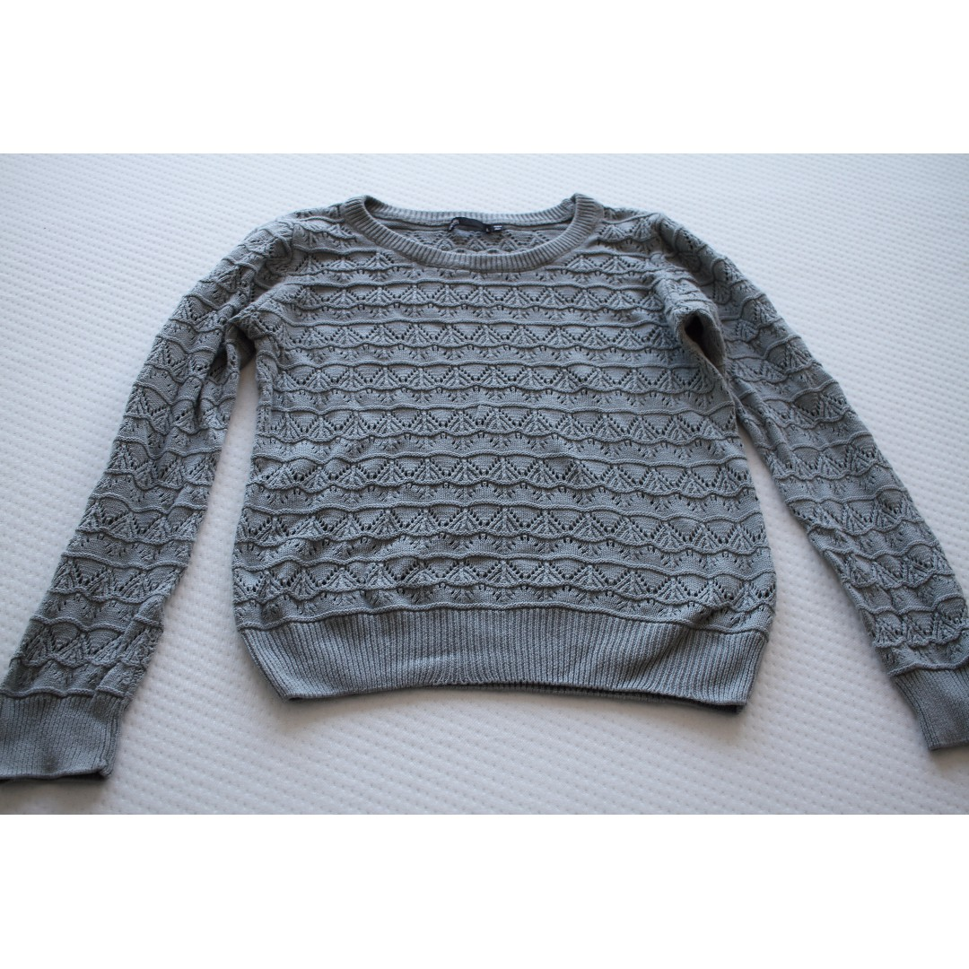 Dotti Knit Jumper Teal - Large Size on tag but small fit.