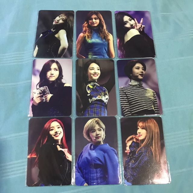[DUPLICATE] Twice Super Event Photocard Set