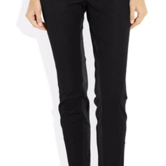 Elizabeth and James trousers with leather details