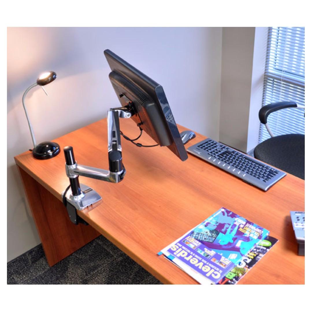Ergotron Lx Desk Mount Lcd Arm Tall Pole 45 295 026 Electronics Computer Parts Accessories On Carou