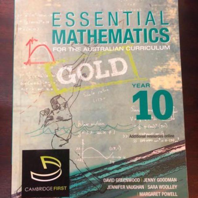 Essential mathematics gold year 10