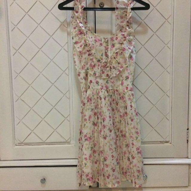 Flower Summer Dress #prelovedkusayang