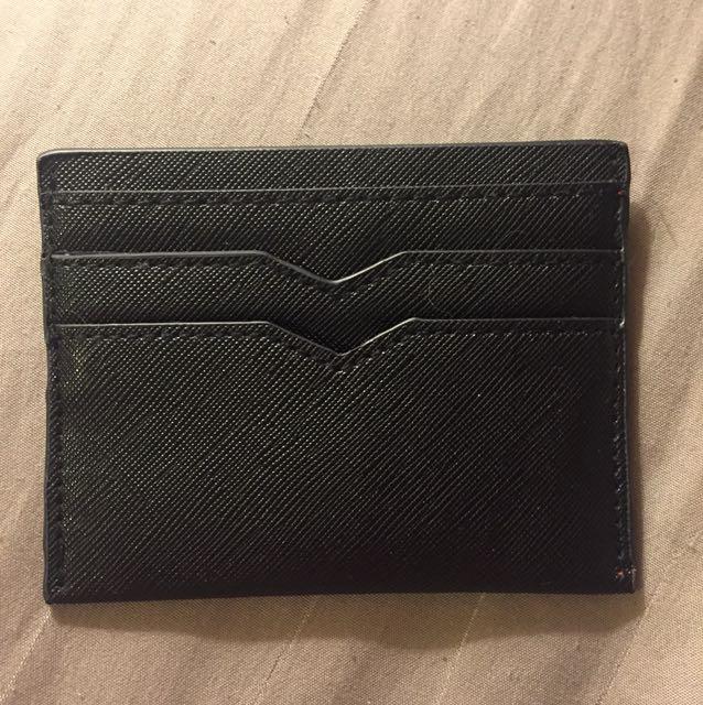 Foreve 21 Card Wallet in Black