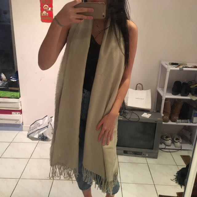 FOREVER21 Tan Scarf