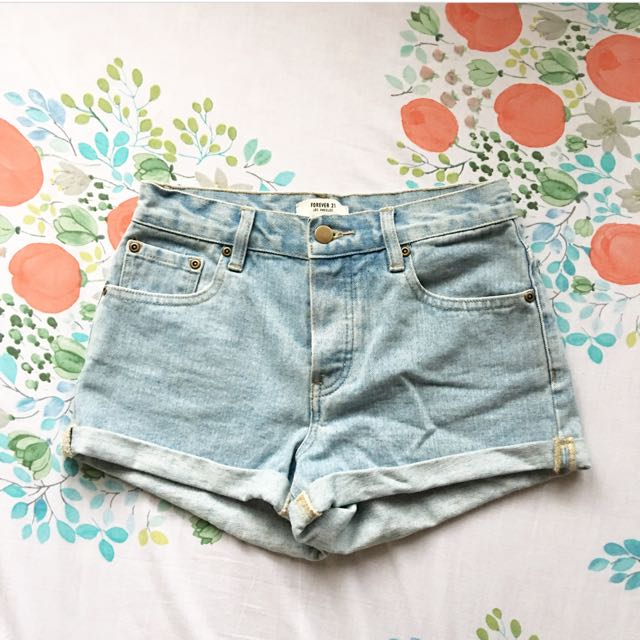Forever 21 highwaist shorts