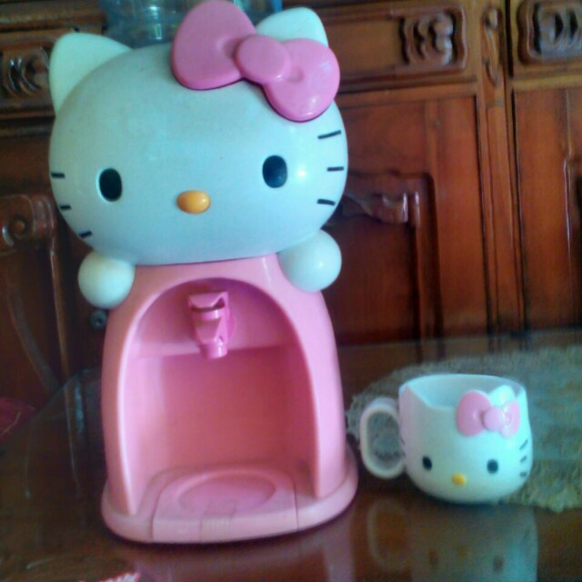 Galon mini &Gelas Hello Kitty