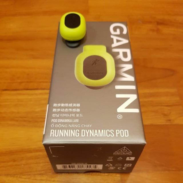 Garmin Running Dynamics Pod, Sports, Sports & Games