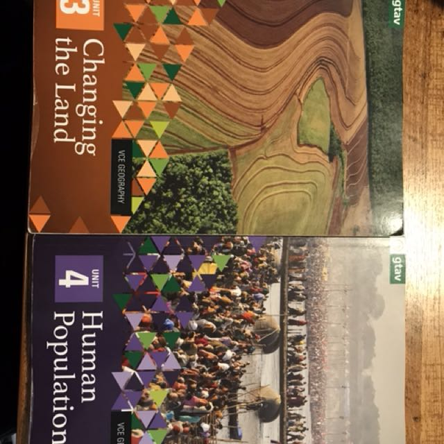 Geography textbooks unit 3&4 vce