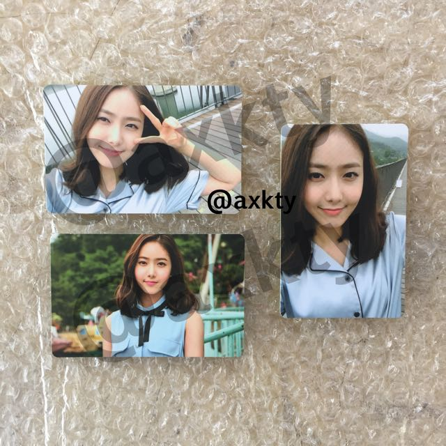 gfriend  sinb lol photocard fullset 1510893567 cb80b1e1