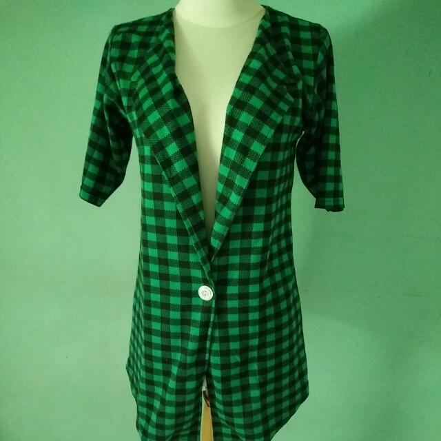 Green Flanel Outer
