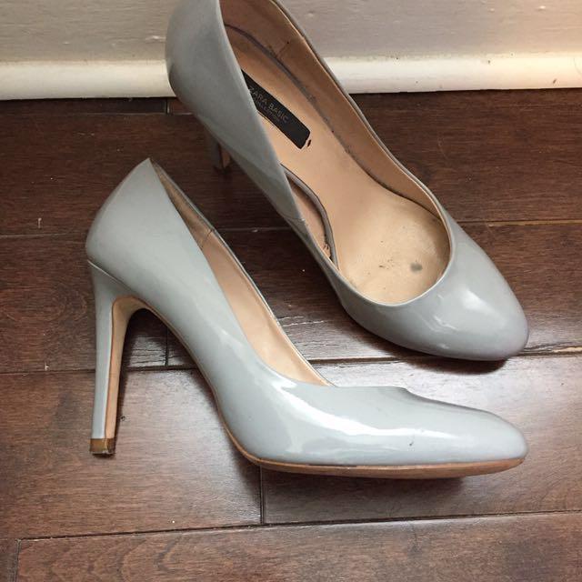 Grey Zara Heels - Size 39