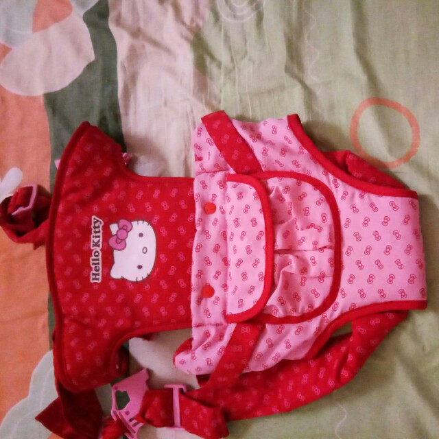 Hello kitty baby carrier