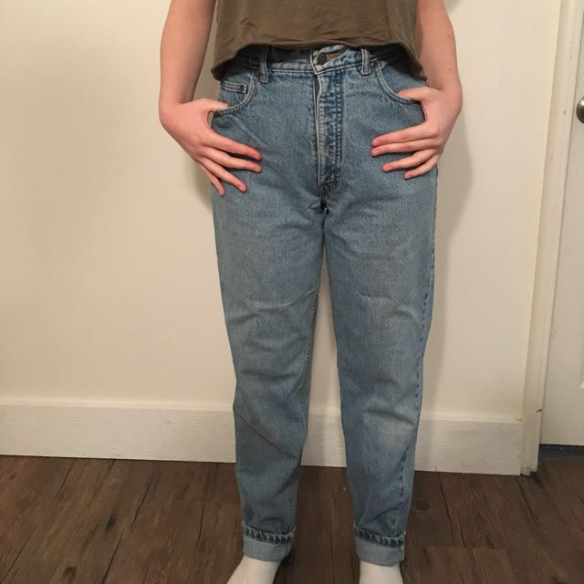 HIGH WAISTED VINTAGE DENIM