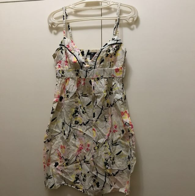 H&M Floral Dress (Size 36) fits Small