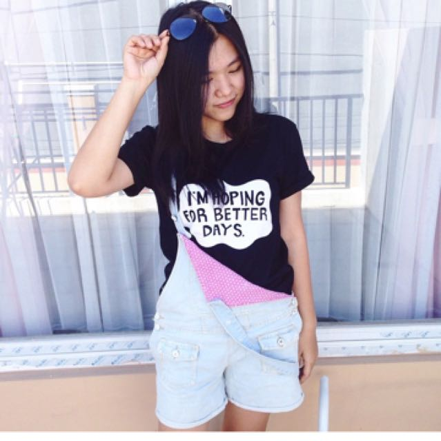 im hoping for the better days tumblr t shirt