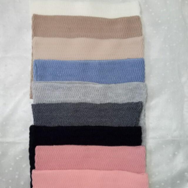 Inner knit zigzag
