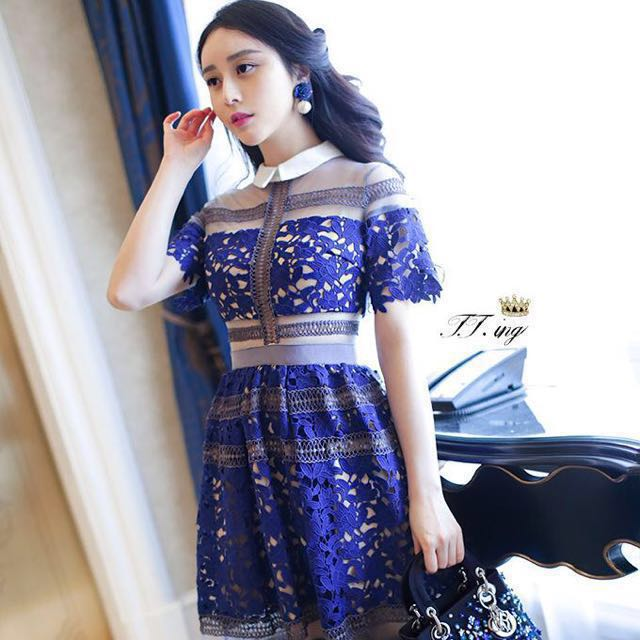 c40c78c4ada67 INSPIRED Self-Portrait Liliana Floral Mesh UK size 8, Women's Fashion,  Clothes, Dresses on Carousell