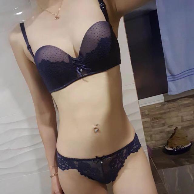 (InStock)Sexy Bra Set b71959007