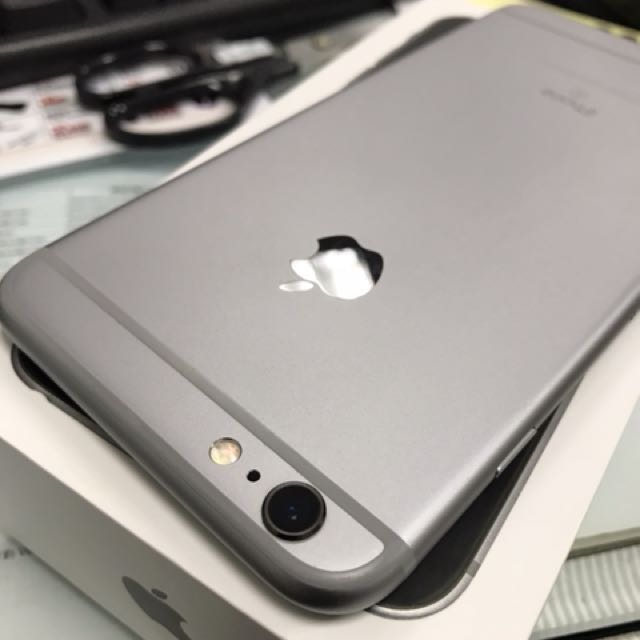 iPhone 6s Plus 64灰 外觀漂亮附盒