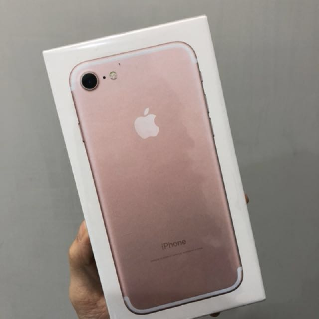 iPhone 7 32G Rose Gold 玫瑰金