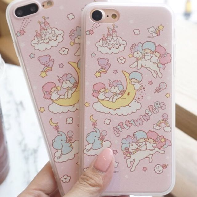 new style 20166 4c00c iPhone 8 Little Twin Stars Case