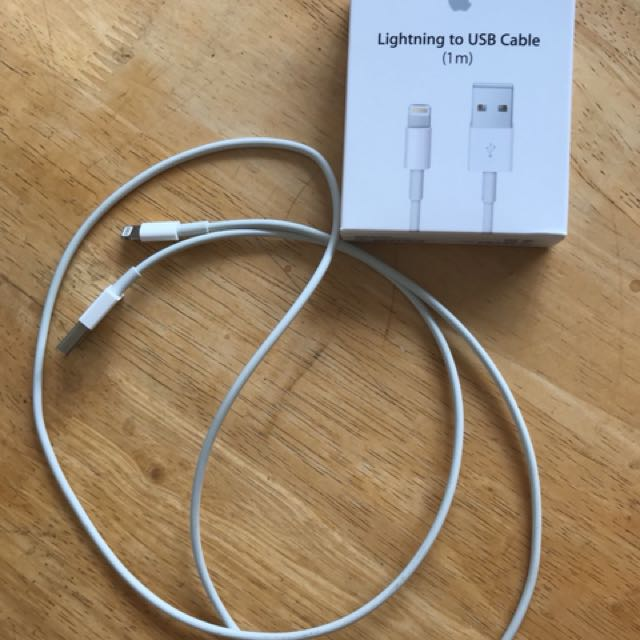 iPhone lighting to USB cable