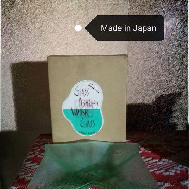 Japam Glass Ashtray