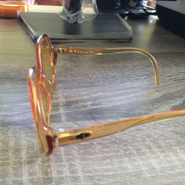 Kacamata Vintage Christian Dior Original