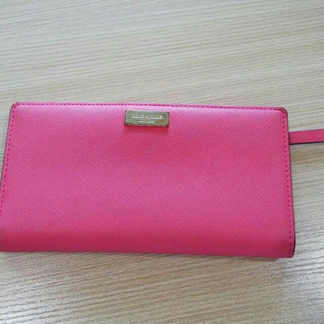 Kate Spade Authentic Pink Stacy Wallet dompet asli original