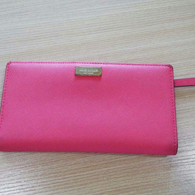 Kate Spade Authentic Wallet Pink original dompet asli